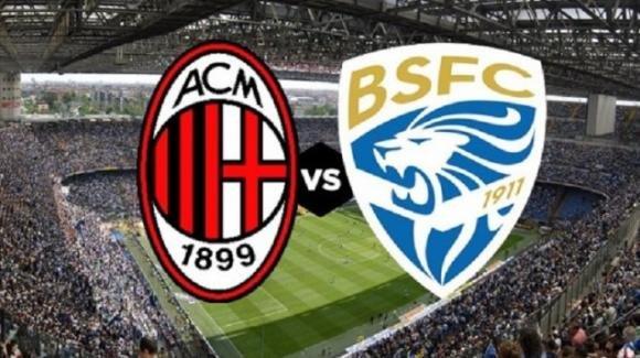Serie A Tim, Milan-Brescia: le probabili formazioni, orario e diretta tv