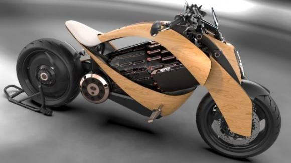 Newron EV-1: in arrivo la super moto elettrica di design, con cura artigianale