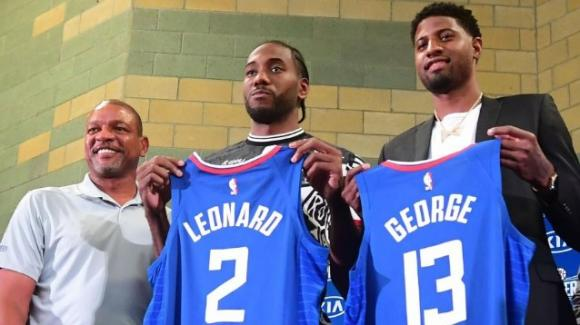 NBA anteprima 2019-2020, Los Angeles Clippers: con Leonard e George, corsa all'anello tra le favorite