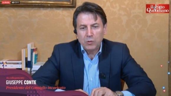 """Giuseppe Conte: """"Non sono del Movimento Cinque Stelle, mi sembra una formula inappropriata"""""""