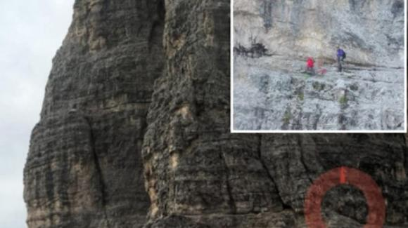 Salvati gli alpinisti spagnoli dopo 3 giorni sulle Tre Cime di Lavaredo