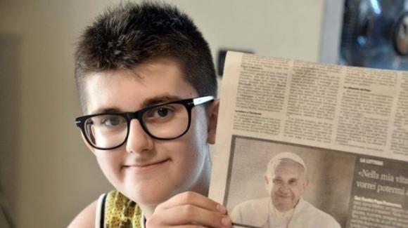 Papa Francesco: la telefonata al 13enne che gli chiede preghiere