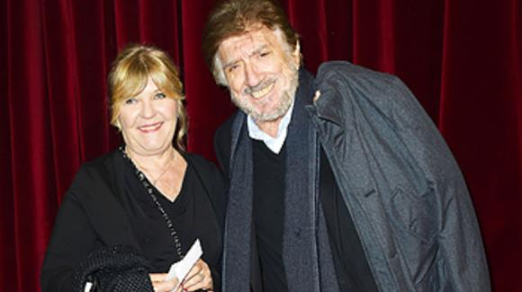 Gigi Proietti, la sua compagna di una vita e i loro 57 anni d'amore