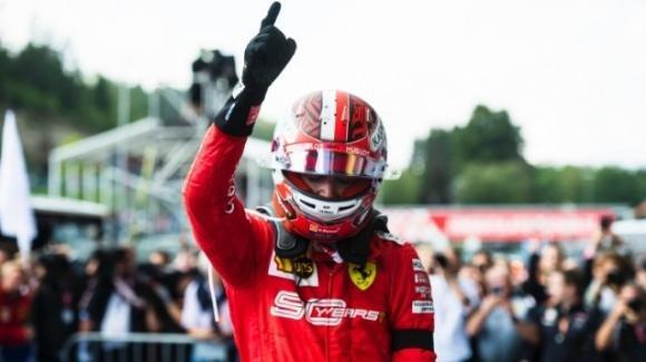 Leclerc è già nella storia: è il più giovane ferrarista ad aver vinto un gran premio