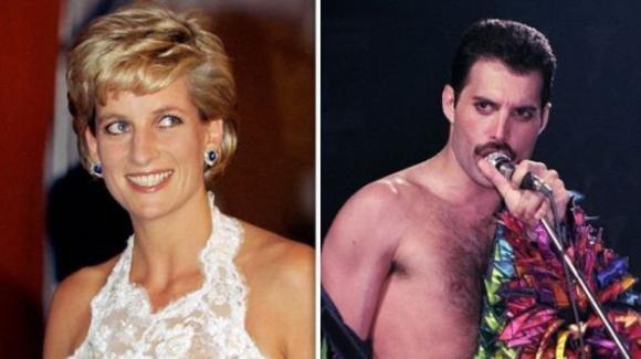 Freddie Mercury travestì Lady Diana da uomo per portarla in un locale gay