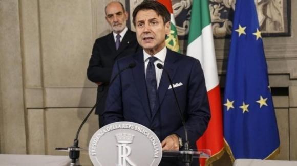 Il premier Giuseppe Conte annuncia la lista dei ministri: 7 donne su 21