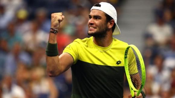 Us Open: Matteo Berrettini batte Gael Monfils e raggiunge la semifinale. Ora sfiderà Rafael Nadal