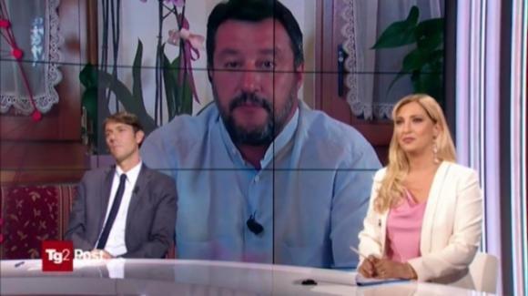 """Matteo Salvini contro il giornalista di Repubblica: """"Vi alzate la mattina pensando a come insultarmi"""""""