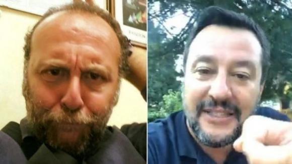 Giornalista sospeso per aver invitato Salvini al suicidio