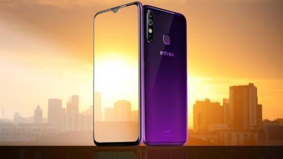 Infinix Hot 8: ufficiale il nuovo smartphone mediogamma con triplice fotocamera posteriore