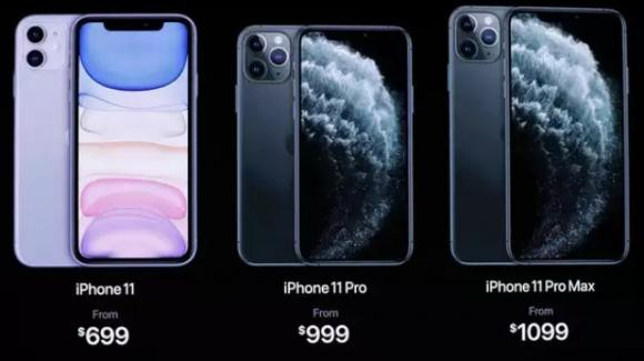 iPhone 11, iPhone 11 Pro, e iPhone 11 Pro Max: ecco i nuovi melafonini, con multicamera e Dolby Atmos