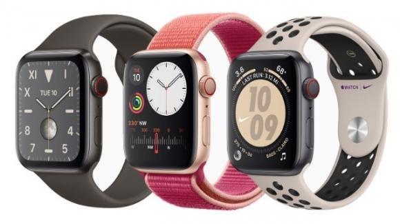 Ecco l'Apple Watch 5, ora con Always on e bussola