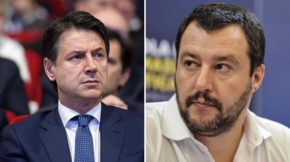 """Matteo Salvini contro il premier Conte: """"Inchiodato come le vecchie mummie della Repubblica"""""""