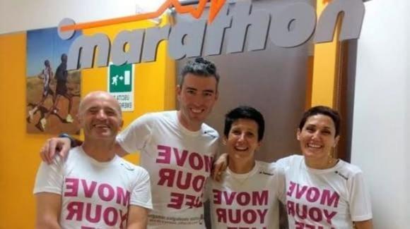 Rimini: Monica, Walter ed Elisa. Dalla lotta contro il cancro alla maratona di New York