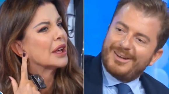 """Vieni Da Me, Alba Parietti litiga con Daniele Radini Tedeschi: """"La Rai la paga per dire fesserie?"""""""