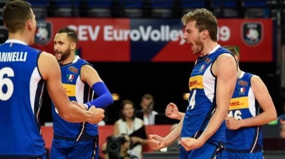 Europei volley maschile: l'Italia batte il Portogallo 3-0