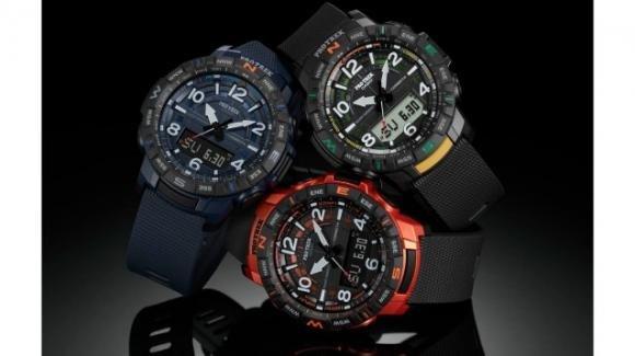 Pro Treck PRT-B50: in arrivo il nuovo orologio smart ibrido di Casio