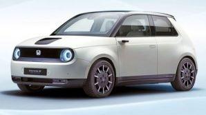 Honda e: a Francoforte arriva la citycar elettrica mix tra vintage e futuro