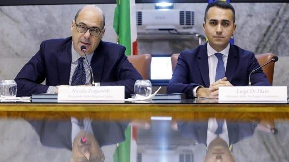 """Nicola Zingaretti, l'alleanza con il M5S: """"Anche in Umbria il confronto può andare avanti"""""""