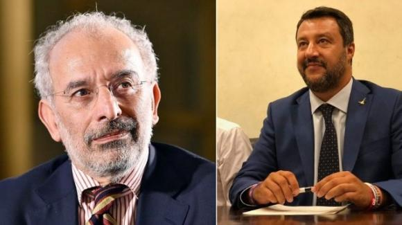 """Matteo Salvini contro Gad Lerner: """"Una volta si augurò la mia morte"""""""