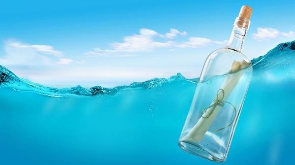 Messaggio in bottiglia salva la vita ad una famiglia in California