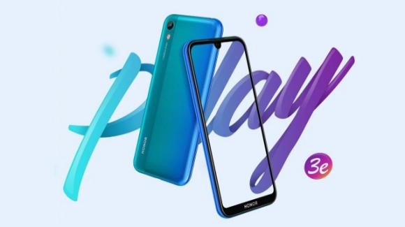 Honor Play 3e: entry level a basso budget, con monocamera, per i giovani