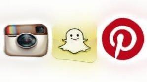 I photo sharing Instagram, Snapchat e Pinterest si scontro a suon di novità