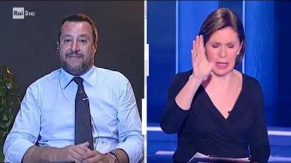 Matteo Salvini confida a Bianca Berlinguer di essere ottimista sulle regionali