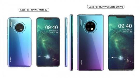 Huawei Mate 30 Pro e Mate 30: top gamma quasi reflex ma con software monco