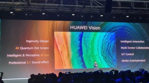 Huawei Vision: smart TV e Hub per la domotica, in 4K e con videochiamate
