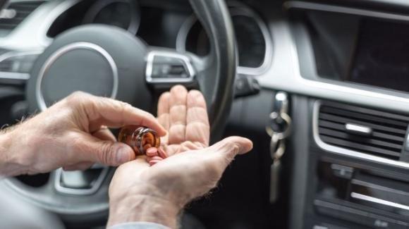 I farmaci da evitare se devi metterti alla guida