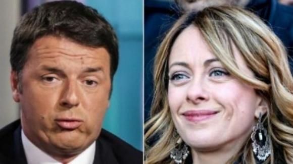 Giorgia Meloni ha definito Matteo Renzi come il politico che ha tradito più promesse in assoluto