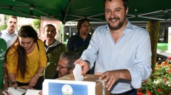 Matteo Salvini ha ricordato che emiliani e romagnoli sono ostaggio delle scissioni interne al PD