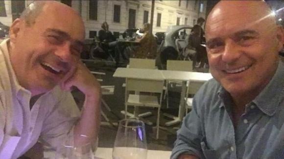 Nicola Zingaretti: il segretario del PD pubblica su Instagram una foto con il fratello Luca