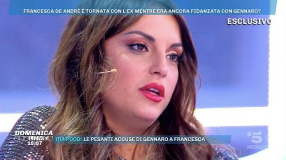 """Domenica Live, Francesca De André annuncia il ritorno con Giorgio Tambellini e attacca Gennaro Lillio: """"È infantile"""""""