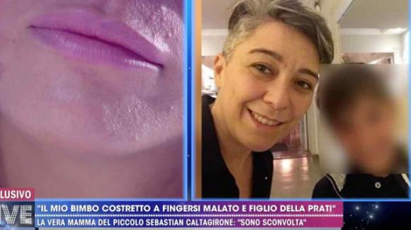 Live – Non è la D'Urso, la mamma del finto Sebastian Caltagirone punta il dito contro Pamela Perricciolo