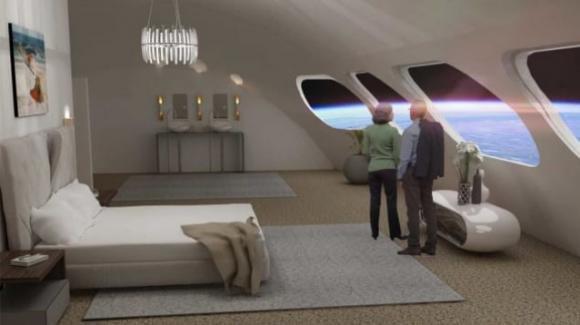 Trascorrere una vacanza in mezzo alle stelle in un hotel spaziale: l'immaginazione lascia il posto alla realtà