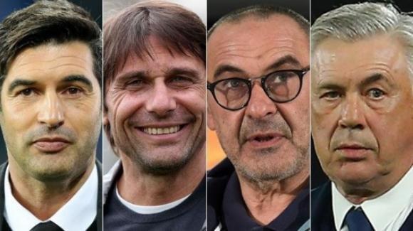 Serie A: Ancelotti per lo scudetto vede il Napoli, la Juve, l'Inter e la Roma