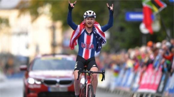Campionati mondiali Juniores di ciclismo su strada: vince Simmons, l'italiano Martinelli è argento, ottimo Garofoli