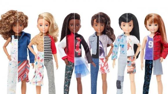 Mattel, in vendita una nuova linea di bambole senza genere