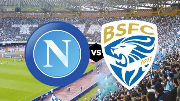Serie A, Napoli-Brescia: le probabili formazioni