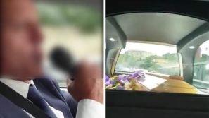 Napoli, becchino canta e ride con la bara in auto: il video scatena una bufera