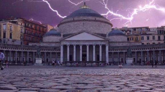 Napoli: allerta meteo il 3 ottobre. Scuole chiuse, allagamenti, rovesci, vento e blackout elettrici