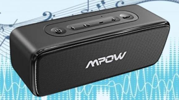 MPOW R6: speaker Bluetooth impermeabile con funzione TWS e microfono incorporato