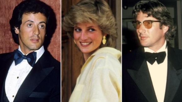 Richard Gere e Sylvester Stallone litigarono per Lady Diana: a rivelarlo è Elton John