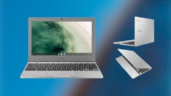 Samsung Chromebook 4 e 4+ ufficiali, con specifiche e prezzi