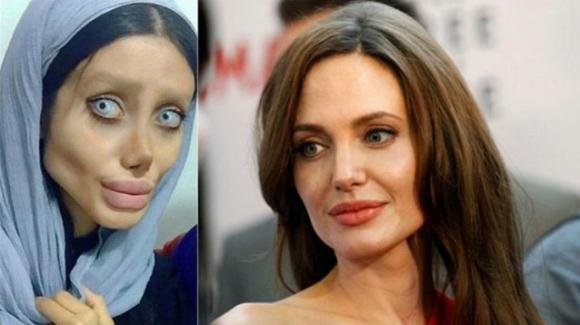 Arrestata la sosia iraniana di Angelina Jolie