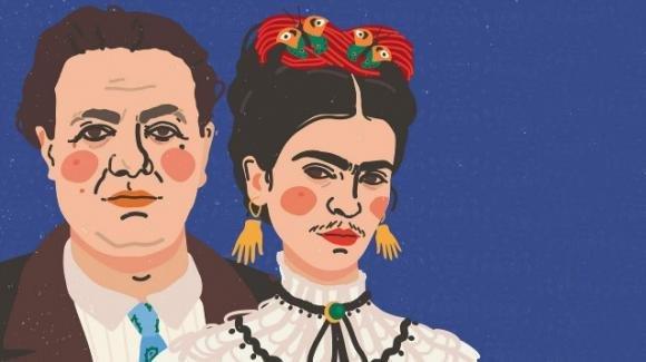 Frida Kahlo e Diego Rivera in mostra a Roma