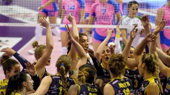 Serie A1 femminile: Imoco Conegliano-ProVictoria Pallavolo Monza 3-0