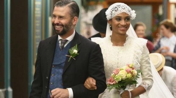 """Anticipazioni spagnole """"Una Vita"""": qualcuno interrompe il matrimonio di Felipe e Marcia"""